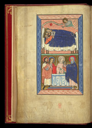The Dream Of The Magi, And The Presentation In The Temple, In A Psalter Preceded By Miniatures And A Calendar